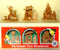 tree olive wood ornaments miniature nativity sets