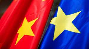 Flag Of The European Union For First Time China And Eu To Join Forces On Climate Science