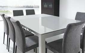 Esszimmertisch 90 X 90 Ausziehbar Mobliberica Tisch Enix Glasplatte Ausziehbar