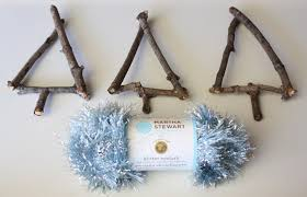 twig tree ornaments for to make happy hooligans
