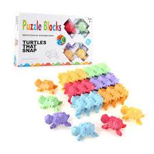tortoise plastic children kid puzzle educational building bricks