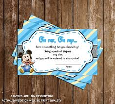 bring a book baby shower novel concept designs baby mickey mouse baby boy baby shower