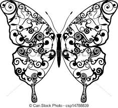abstract pattern butterfly exotic butterfly abstract patterns eps8 vector graphics vectors