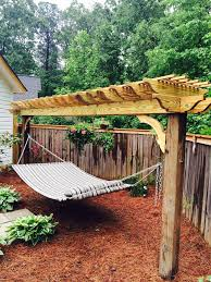 Diy Portable Hammock Stand Beautiful Hammock Stand Backyard Ideas Pinterest Hammock