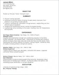 personal trainer resume template personal trainer resume no experience trainer resume exle resume