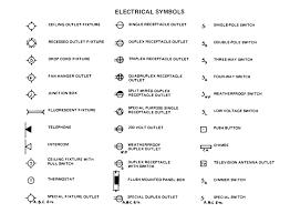 Floor Plan Symbols Pdf by Floor Plan Symbols Electrical