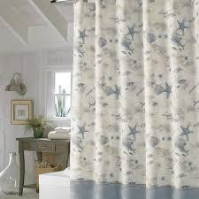 classic bathroom with tommy bahama hawaiian shower curtain and
