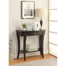Black Entryway Table Tables Black Entryway Table Everett Foyer Sofa Throughout