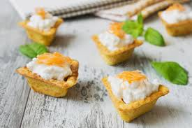 canape cottage canape with cottage cheese stock image image of meal 48880249