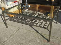 cool coffee table metal on furniture with glass wood and metal