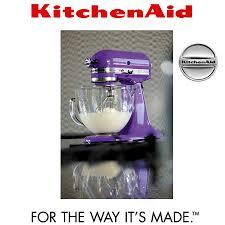Purple Kitchenaid Mixer by Kitchenaid Artisan Stand Mixer 5ksm150ps Grape Cookfunky