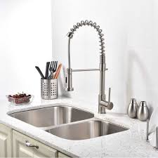 nickel faucets kitchen brushed nickel faucet kitchen kitchen verdesmoke brushed