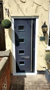 Composite Exterior Doors Contemporary Composite Front Doors This Modern Composite Front
