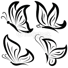 free drawing designs of butterfly clipartxtras