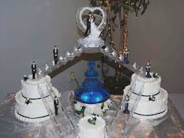 wedding cakes with fountains tier wedding cakes with fountains and lights large cake