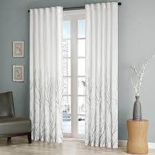 amazon com madison park andora window panel white home u0026 kitchen