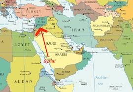 Maps Syria by Most Americans Can U0027t Find Syria On A Map So What The