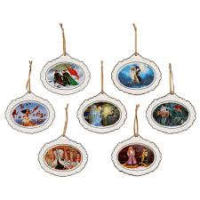 disney designer collection ornament set limited edition shopdisney