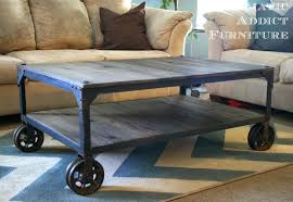 Rustic Industrial Coffee Table Rustic Industrial Coffee Table Diy Best Gallery Of Tables Furniture