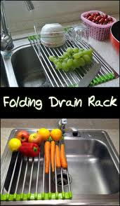 need a drying rack you can use when rinsing produce and dishes