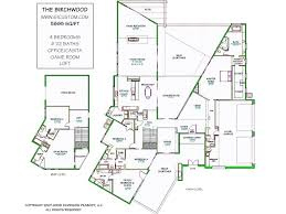 modern architecture floor plans 4 bedroom modern prairie home plan homepw75737 house 5