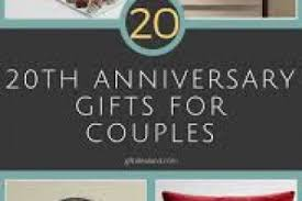 20th anniversary gift for 20th wedding anniversary gifts gift ideas