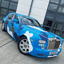 roll royce blue paul wallace on twitter