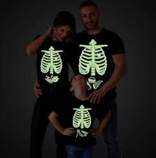 glow in the dark shirt halloween maternity shirts skeleton baby
