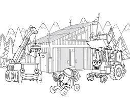 construction coloring pages free printables kids coloring