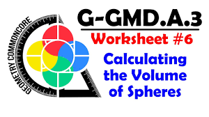 g gmd a 3 worksheet 6 calculating sphere volume youtube