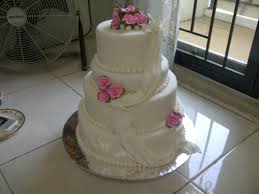 wedding cake sederhana mamaken cakery