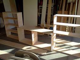 Floating Bed Construction by Partially Freestanding Loft Bed Under 50 7 Steps With Pictures
