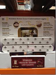 costco wireless motion sensor led lights life love larson easy under cabinet lighting option