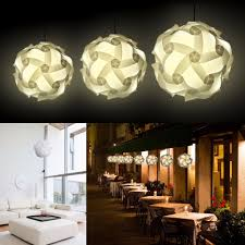 hanging lamp for home decoration infinity lights self assembly