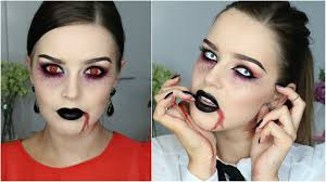 halloween makeup tutorial semi vampire youtube