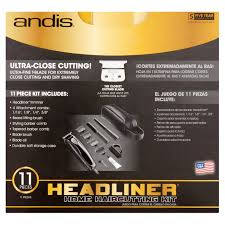 andis headliner home haircutting kit 11 piece walmart com