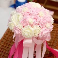 wholesale wedding flowers wholesale cheap artificial wedding flower bouquet holder