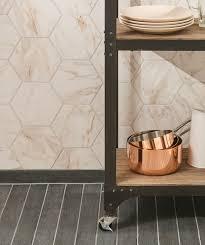 White Tile Bathroom Design Ideas Bathrooms Design Bathroom Floor Tile Hexagon Black White