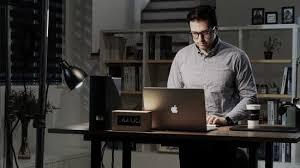 bureau connecté gaze desk un bureau connecté pour un confort au travail