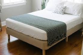 simple is better a diy modern bed