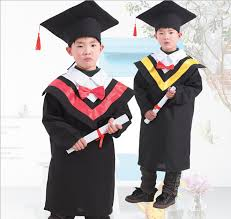 kids cap and gown children s black graduation cap and gown costume set