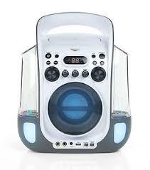 karaoke machine with disco lights new goodmans xxb12dcdg water dancing karaoke machine with disco