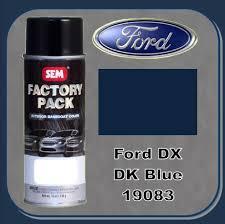 sem 19083 sem factory pack basecoat ford paint code dx