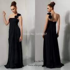 popular long black maternity bridesmaid dresses buy cheap long