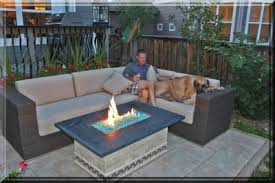 Fire Patio Table by Clean Burning Outdoor Firepits Propane Burner Authority And