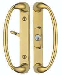 sliding glass doors handles sonoma sliding glass door handle set with center keylock in