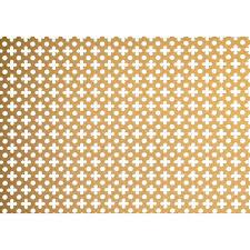 applications screening panel four leaf clover u0026 dot pattern