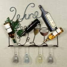 metal wine bottle holder foter