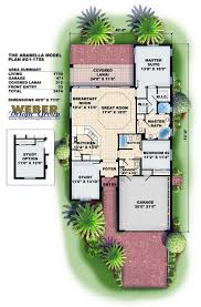 narrow floor plans 22 best home floor plans images on home plans