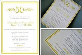 50th wedding invitations 50th wedding anniversary invitations wedding decorate ideas
